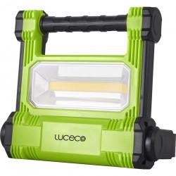 PROYECTOR ILUMIN 20W 1800LM 6500K LED LUCECO ALU NEG/VER PLA - Imagen 1
