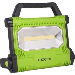 PROYECTOR ILUMIN 30W 2500LM 6500K LED LUCECO ALU NEG/VER PLA - Imagen 1