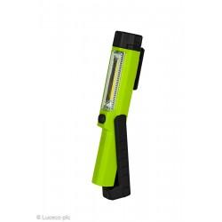 LAMPARA TRABAJO LED 1,5W 1500LM 6500K REC. USB PL NEG/VER LU - Imagen 1