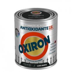 ESMALTE ANTIOXI. MATE 750 ML VER/CAR EXT. LISO TITAN OXIRON - Imagen 1