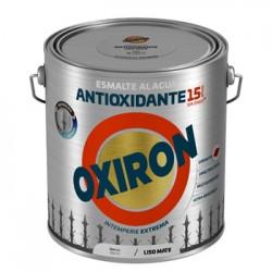 ESMALTE ANTIOXI. MATE 2,5 LT BL EXT. LISO TITAN OXIRON AL AG - Imagen 1