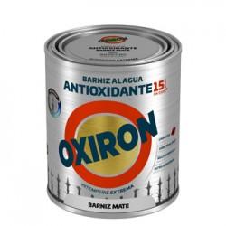BARNIZ ANTIOXI. MATE 750 ML INC. EXT. LISO TITAN OXIRON AL A - Imagen 1