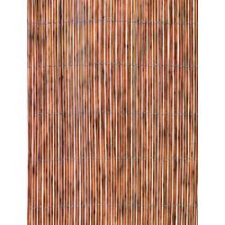 CAÑIZO OCULT. 1,5X3MT SOLAR NORTENE PVC NAT FENCY TWIN 20177 - Imagen 1