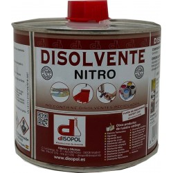 DISOLVENTE NITRO ENV.MET DISOPOL 500 ML - Imagen 1