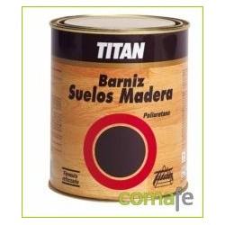 BARNIZ P/SUELO MADERA 1 LT BRILLO - Imagen 1