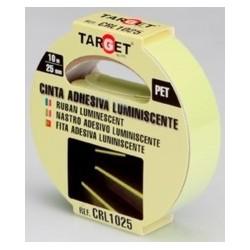 CINTA LUMINISCENTE 10 MTX25 MM CRL1025