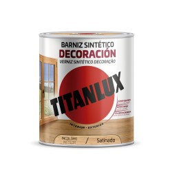 BARNIZ MADERA SATINADO. 250 ML INCOLORO. SINTETICO DECORACION INTERIOR/EXTERIOR