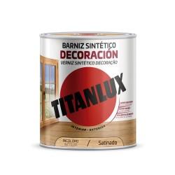 BARNIZ MADERA SATINADO 750 ML INCOLORO SINTETICO DECORACION INTERIOR/EXTERIOR