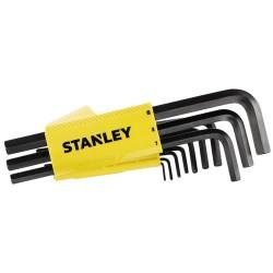 """LLAVE ALLEN HEXAG. 1,5-10MM +ADAPTADOR """"T"""" STANLEY 10 PZ - Imagen 1"""