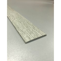 PLETINA PERF 35MMX1MT 1/2C ADH PVC GR/MED 41680B RUFETE - Imagen 1