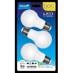 LAMPARA ILUMIN ESTAN LED GARZA 4000K 3 PZ - Imagen 1