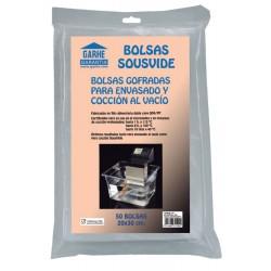BOLSA ALIMEN. VACIO 20X30CM COCCION MALLA SOUSVIDE GARHE 50 - Imagen 1