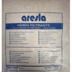 VIDRIO FILTRANTE DEPURADORA 20KG/ 0,5-1,2MM ARESLA VIDRIO 11 - Imagen 1
