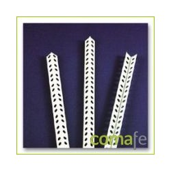GUARDAVIVO PERFORADO 2,5 M PVC - Imagen 1