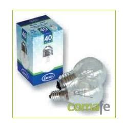 LAMPARA ESFERICA CLARA E14 25W CLAR - Imagen 1