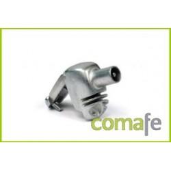 CONECTOR MACHO BLINDADO 9,5 MM. 4374=437401 - Imagen 1