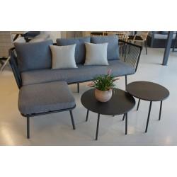 Mueble jardín 193x72x75cm sofá+2mesas  sanjo NATUUR