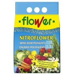 ABONO SOLIDO POLIV. AZUL NITROFLOWER 2.5 KG 1-10529 FLOWER - Imagen 1