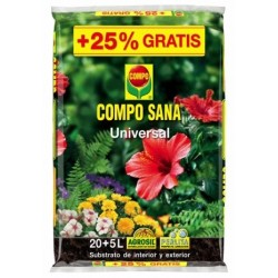 SUSTRATO UNIVERSAL COMPOSANA 20+5 LT - Imagen 1