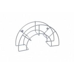 COLGADOR MANGUERA GRANDE PLASTIFICADO GRIS - Imagen 1