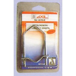 Abrazadera sujeción mástil 12.5cm AXIL