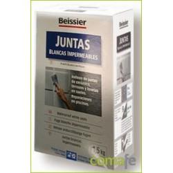 MORTERO JUNTAS BLANCAS IMPERMEA INTE/EXTER ESTUCHE 1,5KG 780 - Imagen 1