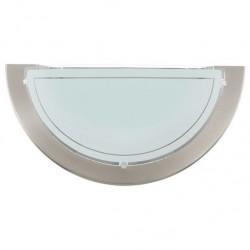 Aplique cristal blanco níquel 1x60w EGLO
