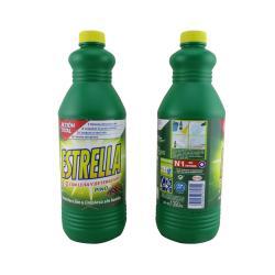 Lejía con detergente pino lejia desinfeccion 1350ml ESTRELLA - Imagen 1