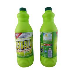 Lejía con detergente limon lejia desinfeccion 1350ml ESTRELLA - Imagen 1