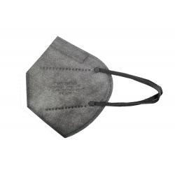 Mascarilla proteccion FFP2 plegada 5 capas gris - Imagen 1
