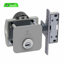 Cerrojo alarma alta seguridad cromo brillo LINCE - Imagen 1