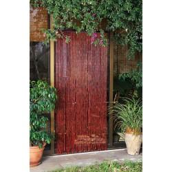 Cortina puerta burdeos hong...