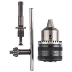 Portabrocas llave + adaptador 13mm BOSCH