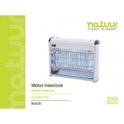 Lámpara mata-insectos eléctrico 2x10w NATUUR