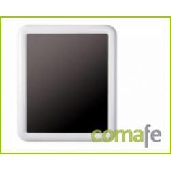 ESPEJO RECTANGULAR 650X550 BLANCO - Imagen 1