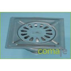 SUMIDERO A/INOXIDABLE AISI 304 100X100 - Imagen 1