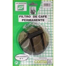 FILTRO CAFE PERMANENTE METALICO 769 - Imagen 1