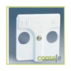 TAPA TOMA TV-FM BLANCO 27053-34 - Imagen 1