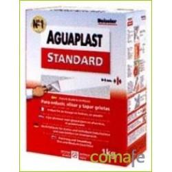 PLASTE AGUAPLAST STANDARD BLANCO INTERIOR ESTUCHE 1KG 4051 - Imagen 1