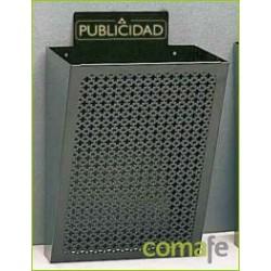 CESTA PUBLICIDAD NEGRO E-2301 - Imagen 1