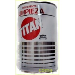 DISOLVENTE P/LIMPIEZA UTENSILIOS PINTOR 5 LT TITAN 08L000105 - Imagen 1
