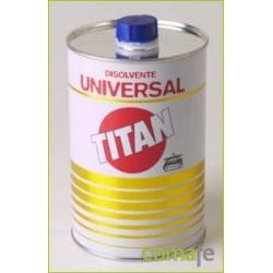 DISOLVENTE UNIVERSAL PARA PINTURAS 500 ML TITAN 08U000112 - Imagen 1
