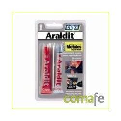 ARALDIT BICOMPONENTES P/METAL 47 GR - Imagen 1