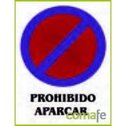 "CARTEL PVC 40X30""PROHIBIDO APARCAR""0248 - Imagen 1"