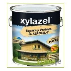 PROTECTOR LASUR PARA MADERA MATE NOGAL 750ML XYLAZEL PLUS - Imagen 1
