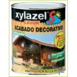 PROTECTOR LASUR PARA MADERA SATIN INCOLORO 750ML XYLAZEL SOL - Imagen 1