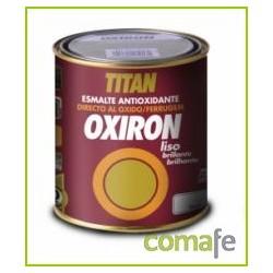 ESMALTE P/METAL ANTIOX BRI NEGRO 750ML OXIRON LISO 02C456734 - Imagen 1