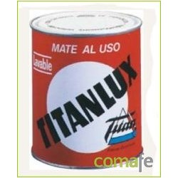 PINTURA SINTET LAVABLE MATE TITANLUX AL USO BLANCO 016034534 - Imagen 1