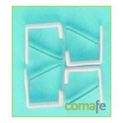 SUJETAMANTELES 4PZ PLASTICO 14466 - Imagen 1