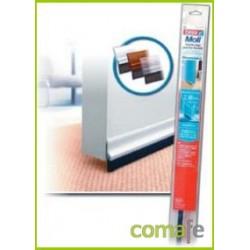 BURLETE BAJO PUERTA PVC BLANCO 1X37 5433 UNIDAD - Imagen 1
